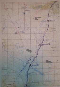 1 Karta fjällvandring