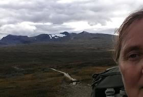 extra slående natur bild 1 av 2 dvs jag på väg med sylarna i bakgrunden